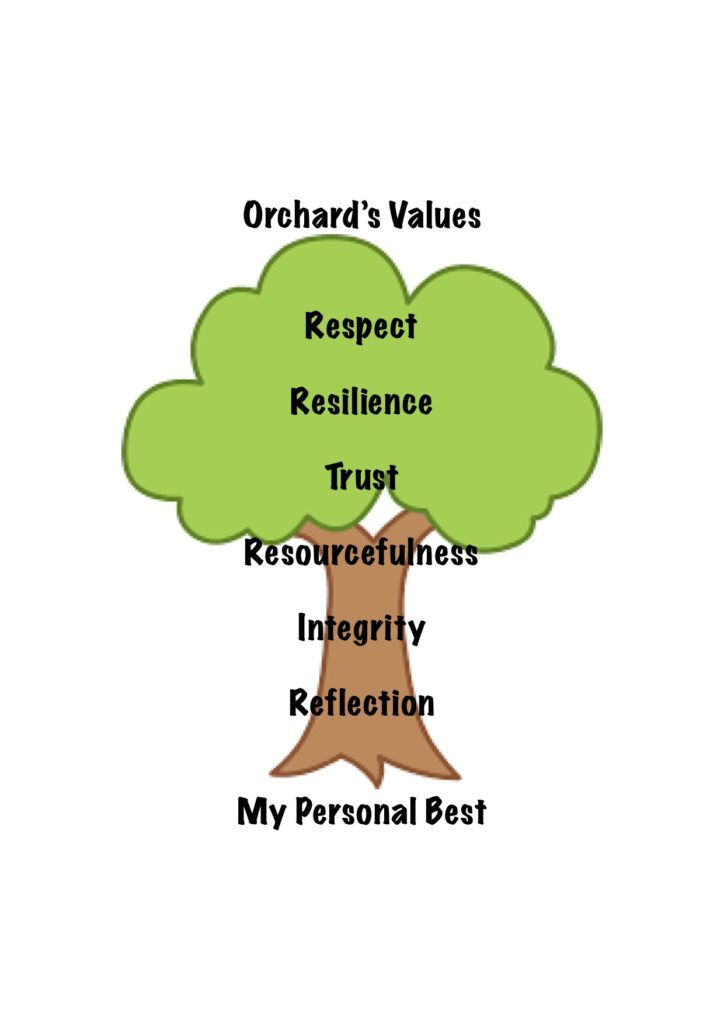 Orchard's Values